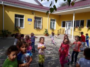 Grădinița din satul Ratuș